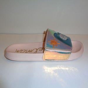 Sam Edelman Size 4 M MACKIE BEACHY Pink Sandals